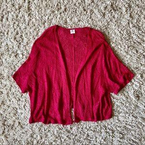 (3/$40) Dark Pink Shrug
